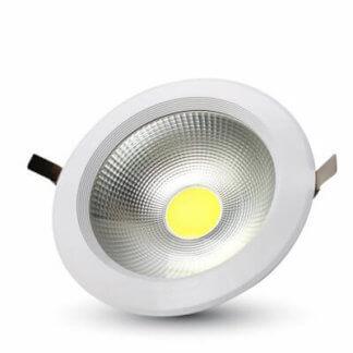Χωνευτά cob LED